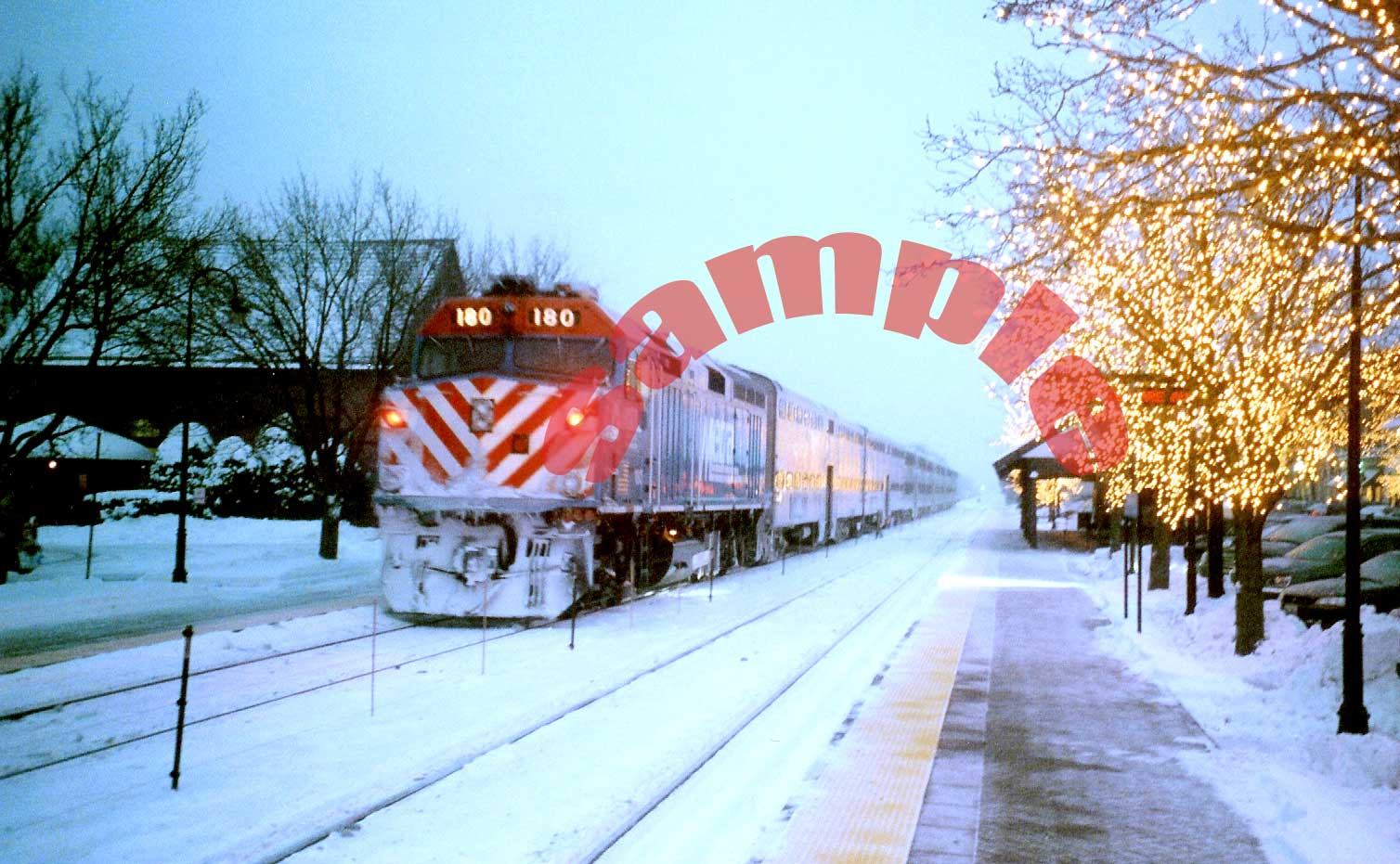 Gohmann and Associates-Railmode Christmas Cards